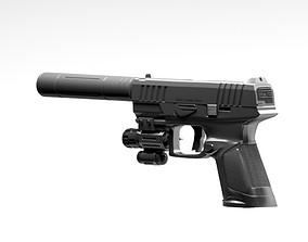 3D model Gun Glock2 Options