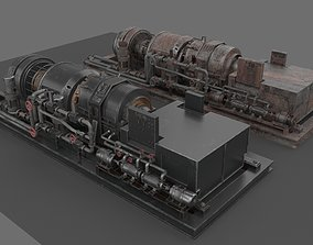 3D model Machinery device machinery