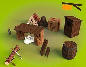 Medieval Assets Pack 3D model