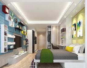 contemporer 3D Modern apartment