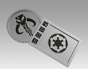 3D print model Star wars Galactic Currency from Sabacc