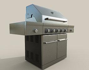 Propane Grill 3D model