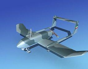 3D model Mohajer 4 Drone V04