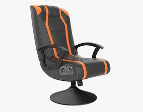 Gaming armchair with integrated audio 3D