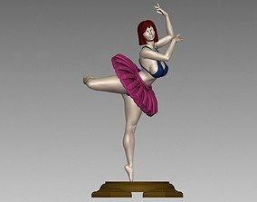 Female Woman Ballet poses N002 3D print model