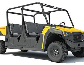3D model golfcar Utility Vehicle
