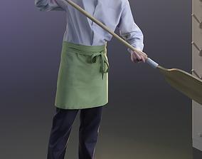 3D model Felix 10144 - Standing Pizza baker