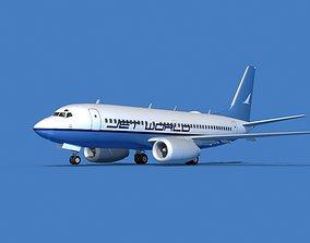 Boeing 737 MAX 7 Jet World 3D
