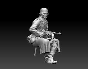 2ww German soldier 3D printable model