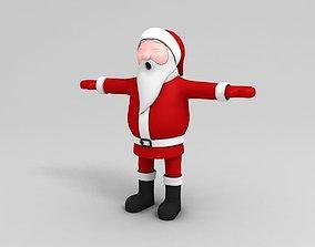 Santa Character 3D