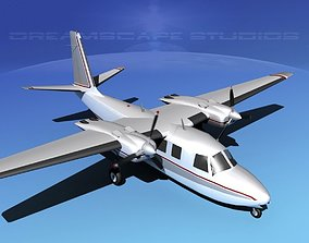 3D Rockwell Aero Commander 560 V16