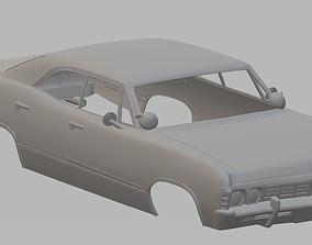 Impala 1967 Printable Body Car