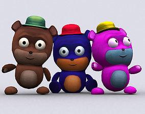 animated realtime 3DRT - Chibiimons - Teddy