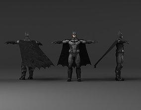 Batman 3d models HD low poly low-poly
