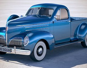 3D model studebaker Studebaker Coupe Express Pickup 1939