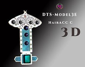 DTS - Model3E - HairAcc C 3D asset