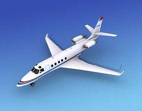 3D model IAI Astra Jet V13