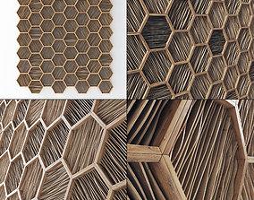 Parametric Ngon frame decor 3D