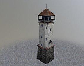 3D asset Karlovy Vary Diana Tower