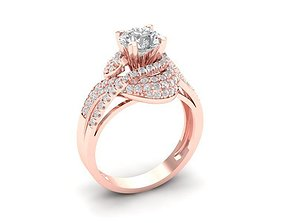 1174 Diamond Ring 3D printable model
