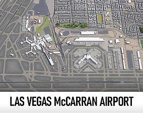 3D model Las Vegas McCarran International Airport