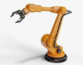 Industrial robot arm clean 3D