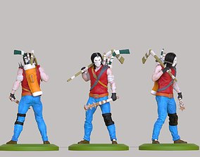3D print model hero of the ninja turtles Casey Jones