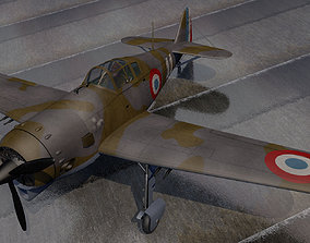 Koolhoven FK-58A 3D model