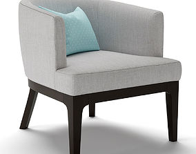 3D West Elm Oliver Chair
