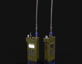 3D asset low-poly RF23 handheld EPM transceiver