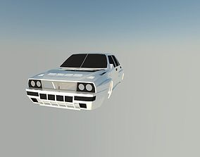 3D printable model Lancia Delta Integrale
