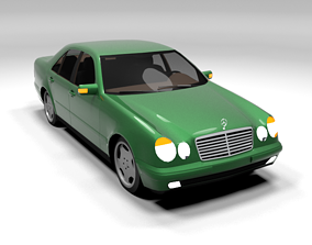 MERCEDES E CLASS LOWPOLY 3D model