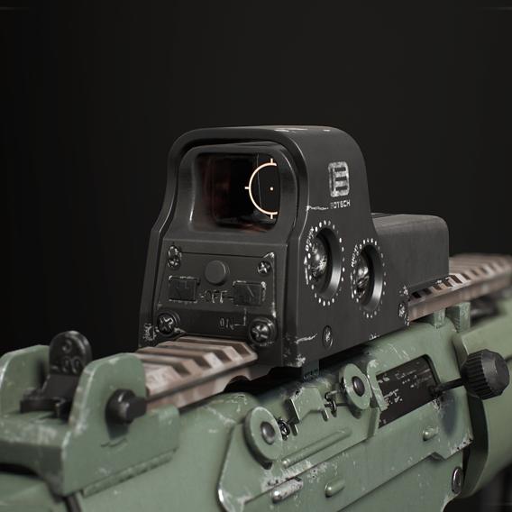 AK 5C & EOTech 512