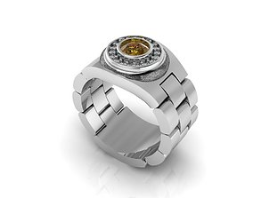 3D print model ring dk7