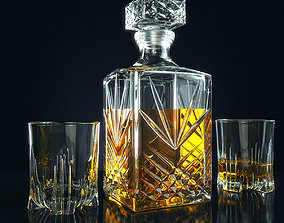 3D Set for whiskey Bormioli Rocco SELECTA