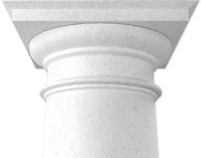 3D model Tuscan Column