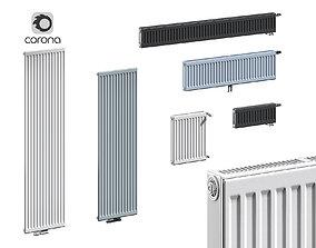 Panel Radiators Purmo Compact 3D asset