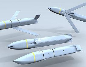 AGM-158 JASSM Missile missile 3D model