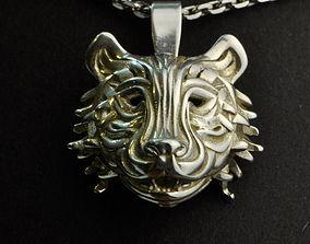 The Tiger Pendant 3D printable model