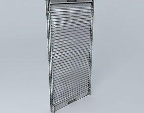 Metal Door Roller Shutter 3D model