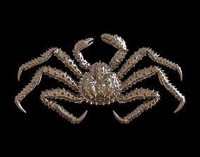 Crab king relief 3d print model