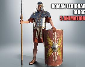 ROMAN LEGIONARY RIGGED-ANIMATED 3D asset