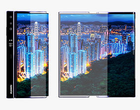 Huawei Mate X ELEMENT All Version 3D model