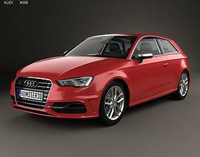 Audi S3 3-door 2014 3D