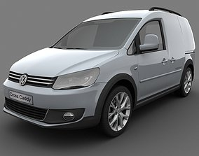 Volkswagen Cross Caddy Kasten 2013 3D