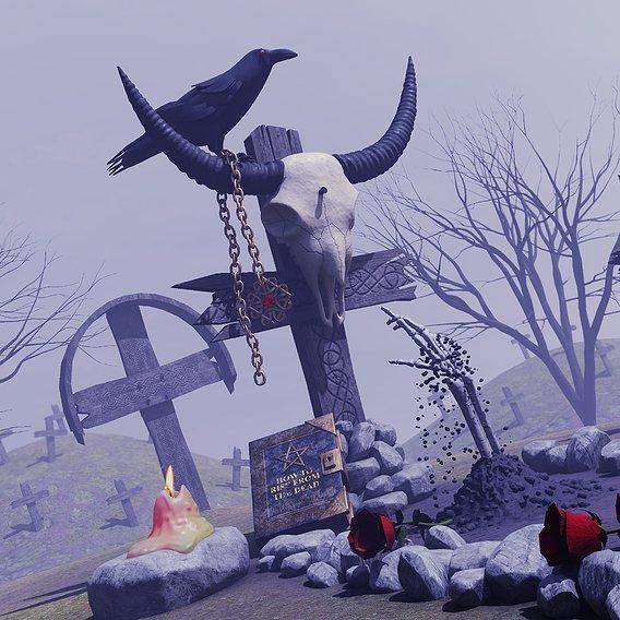 Warrior grave