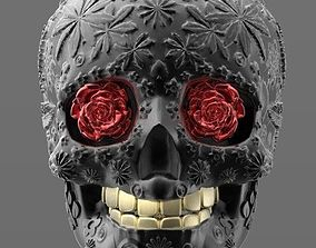 bones skull 3d model