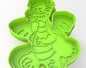 3D printable model Cookie cutter dragon