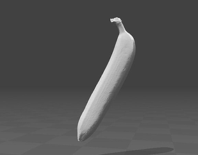 food Banana 3d model