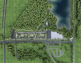 Urban Area 09 3D model